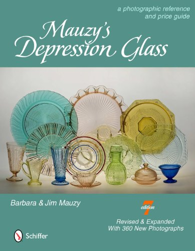 Compare Textbook Prices for Mauzy's Depression Glass: A Photographic Reference and Price Guide 7th Edition ISBN 9780764339370 by Barbara Mauzy,Jim Mauzy