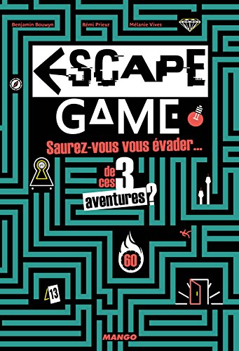 Le livre Escape Game