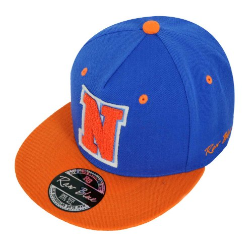 Raw Blue Letterpatch-Snapback N Royal / Orange
