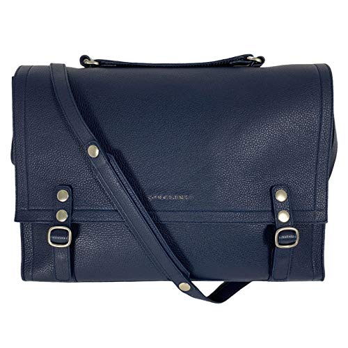 Orciani D49 borsa donna blue leather bag women [ONE SIZE]