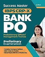 Success Master IBPS CRP-X Bank PO (PO/MT) Pre Exam 2020