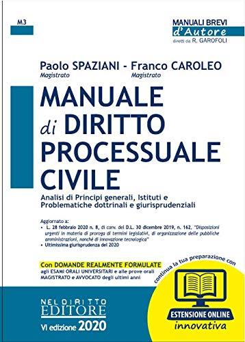 Manuale di diritto processuale civile. Con espansione online