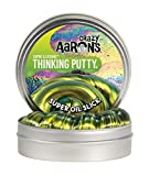 """Crazy Aaron's Thinking Putty - Super Illusions: Super Oil Slick - Fidget Toy For All Ages - Stretch, Change, Play & Create - Shifting Gold Color That Never Dries Out - 4"""" Large Storage Tin - 3.2 oz."""