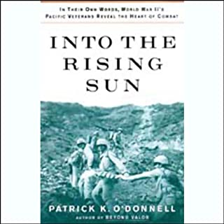 Into the Rising Sun audiobook cover art