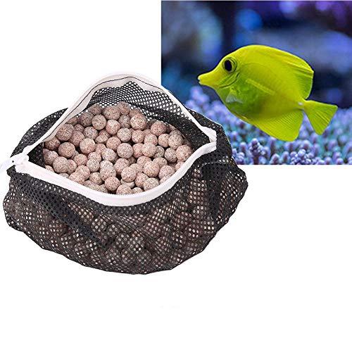 Pssopp Aquarium Bakterien Ball Aquarium Filterbälle Filtermaterial biologischen Filtermedien für Außenfilter und Aquarium, Aquarium Professional Filtermaterial für Stabilisierung des pH des Aquariums