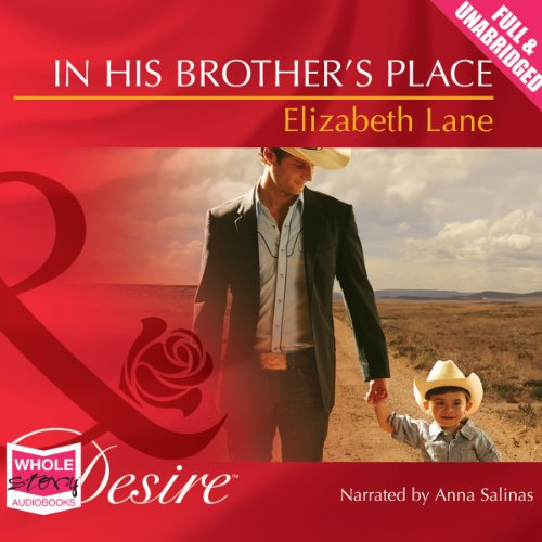 In His Brother's Place audiobook cover art