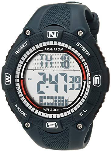 Armitron Sport Reloj de pulsera de resina con cronógrafo digital para hombre, 40/8477