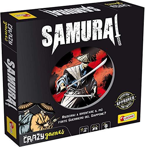 Liscianigiochi- Crazy Games Samurai Juego de Sociedad, Multicolor (86375)