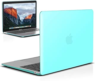 IBENZER MacBook Air 13 Inch Case 2018 Release New Version A1932, Soft Touch Hard Case Shell Cover for Apple MacBook Air 13 Retina with Touch ID, Turquoise, MMA-T13TBL