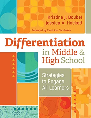 Compare Textbook Prices for Differentiation in Middle and High School: Strategies to Engage All Learners  ISBN 9781416620181 by Doubet, Kristina J.,Hockett, Jessica A.