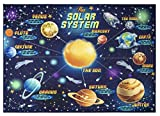 Gertmenian 21690 Smithsonian Learning Carpets Universe Galaxy Rug, 5x7 Standard, Galaxy Navy Blue