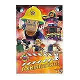 Rompecabezas de madera con imagen de bombero Sam para decoración familiar, regalos únicos para niños, niñas, adolescentes, 300 unidades