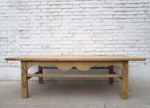 Chine Shandong Natural 1890 grand classique Table basse bois d'orme