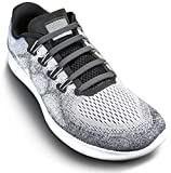 No Tie Shoelaces For Adults and Kids (Gray)