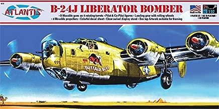 B-24J Liberator WWII Bomber Buffalo Bill Plastic Model Kit 1/92 Scale Atlantis