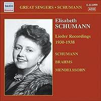 Lieder Recordings 1930