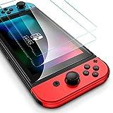2枚入 Nintendo Switch 保護フィルム ブルーライトカット 任天堂 スイッチ フィルム 強化保護ガラス 硬9H 撥水撥油 飛散防止 任天堂 スイッチ ニンテンドー Nintendo Switch ガラスフィルム 指紋防止