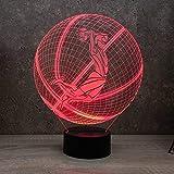 Lampe Ballon de Basket Dunk personnalisable 16 couleurs RGB & télécommande -...