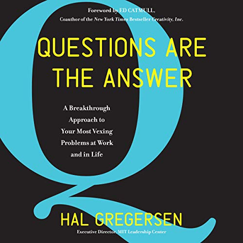 Questions Are the Answer audiobook cover art