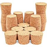 Juvale Size #16 Tapered Cork Plugs (1.34 x 1 x 1.1 in, 20 Pack)