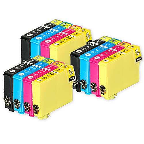 Go Inks Compatible Cartuchos de Tinta para reemplazar Epson T1295 Serie Non-OEM *Nueva versión* (12 Tintas)