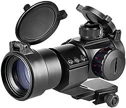 CVLIFE Tactical Gun Sight Red Green Dot Scope Reflex Sight for 20mm Cantilever Mount