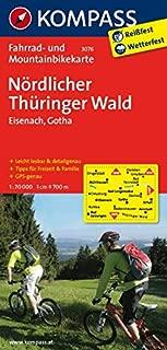 Nördlicher Thüringer Wald - Eisenach 3076 GPS wp kompass: Fietskaart 1:70 000 (German Edition)