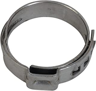 SharkBite PEX Clamp Ring 3/4 Inch, Stainless Steel, Pack of 10, UC955A, 0.75 Inch