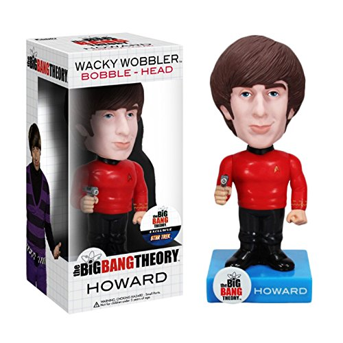 Funko Star Trek Big Bang Theory: Howard Wacky Wobbler by Funko (English Manual)