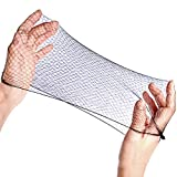 Hair Net 20 Pcs - Hair Nets Food Service Invisible Elastic Wig Cap Edge Mesh, Hair Nets for Women 20 Inches Disposable Nylon Cover Hairnet, Buns, Sleeping, Wig Storage, Ballet Dancer, Kitchen, Gym