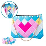 Top 2020 DIY Bag Making Kit - NeWisdom Creative Arts and Crafts for Girls Ages 12 8 6 - Girl Building Blocks - 68 pcs DIY Girl Pixel Toy Sets Crafts Kit - Ideal Birthday Gifts for Girls (Sweet Girl)