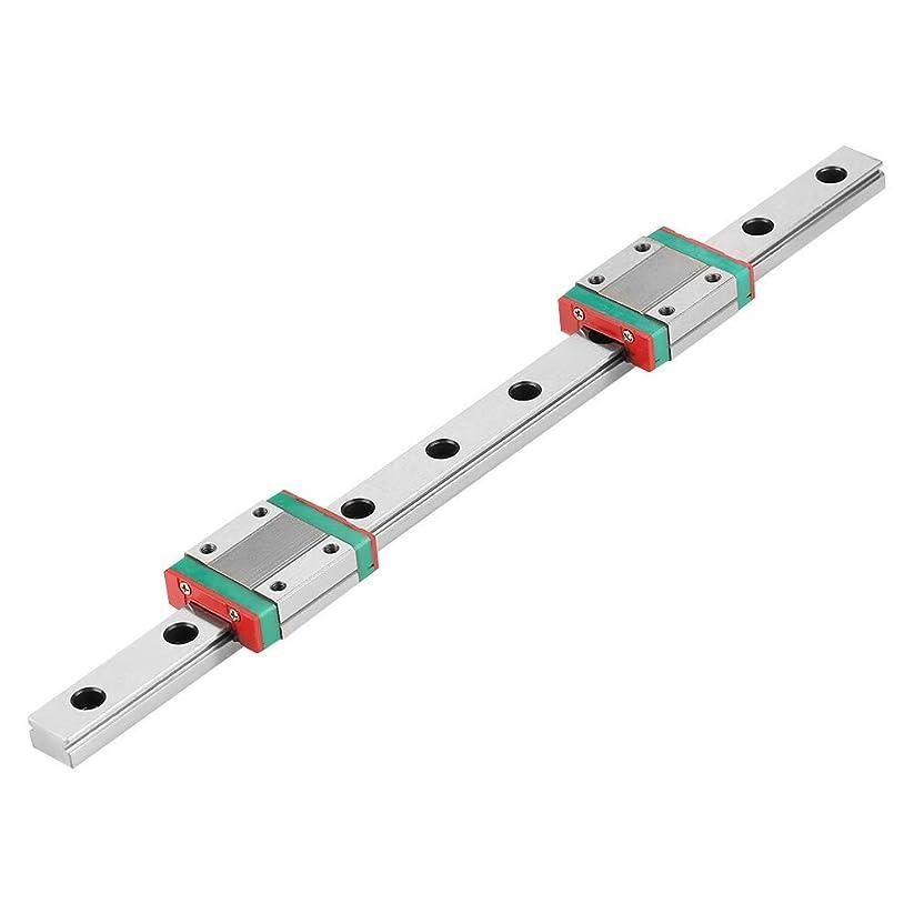 最高シングル自信があるZKS-KS MGN12ミニチュアリニアレールガイドレール12ミリメートル幅+ 2個MGN12Bスライドブロックの250ミリメートル