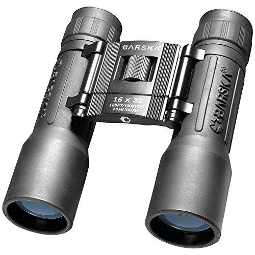 BARSKA Binoculars AB10115 16x32 Lucid View, Black Compact, Blue Lens,...