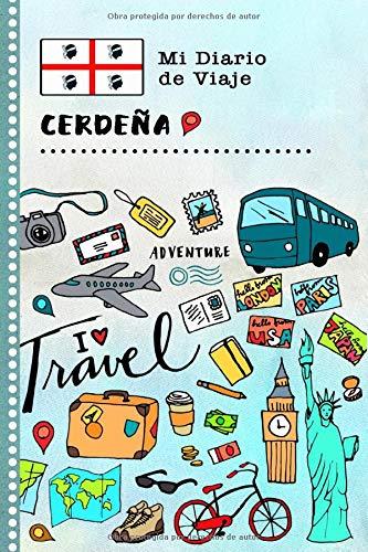 Cerdeña Mi Diario de Viaje: Libro de Registro de Viajes Guiado Infantil - Cuaderno de Recuerdos de Actividades en Vacaciones para Escribir, Dibujar, Afirmaciones de Gratitud para Niños y Niñas