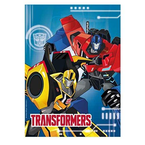 Amscan International 9901307 Robot Transformers richiudibile in borsa da refurtiva