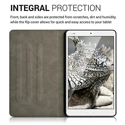 kwmobile Huawei MediaPad M3 8.4 Hülle - Tablet Cover Case Schutzhülle für Huawei MediaPad M3 8.4 mit Ständer - 4