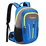 Piscifun Cooler Backpack - Leakproof Insulated Cooler Bag - Soft Lightweight Backpack Cooler for Men & Women - Keeps Food and Drinks Cold - for Picnic, Fishing, Hiking, Camping, Park, Day Trip Blue