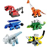 Dinotrux Bundle Die-cast Characters and Reptools Featuring Rolling Wheels [Amazon Exclusive]
