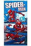 Marvel Spider-Man Telo Mare per Bambini, Diversi Designs 70x140 cm, 100% Cotone (Spider-Man Moon) (Comico di Spider-Man)