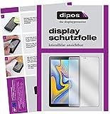 dipos I 2X Schutzfolie klar kompatibel mit Samsung Galaxy Tab A 10.5 Folie Bildschirmschutzfolie