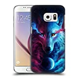 Head Case Designs Licenza Ufficiale Jonas JoJoesArt Jödicke Lupo Galassia Animali Selvatici Cover Dura per Parte Posteriore Compatibile con Samsung Galaxy S7