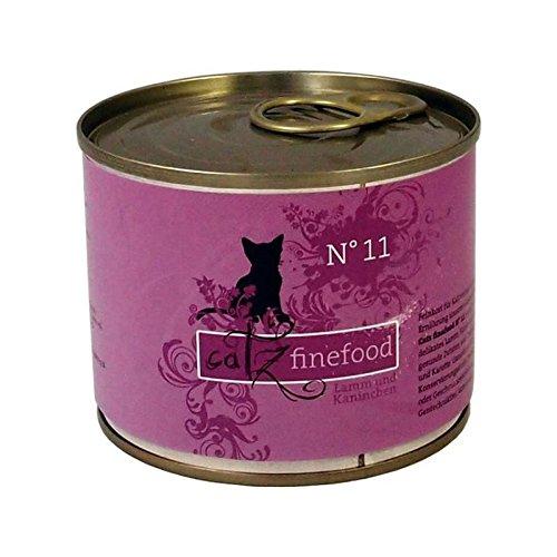 Catz finefood No.11 Lamm+Kaninchen 200g
