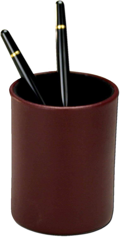 Dacasso BiFarbe rund rund rund Bleistift Cup, Burgund B001EDAIWM | Neue Sorten werden eingeführt  710962