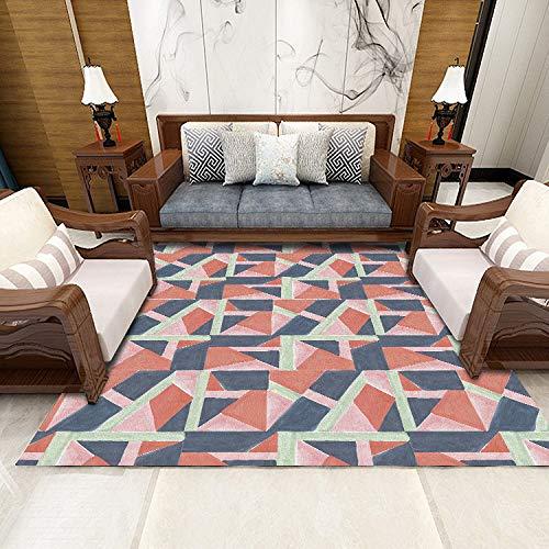 MLKUP Alfombra Sala De Estar Alfombra De Dormitorio Decoración Clásica Alfombrilla Alfombra De Mesa De Café Alfombra Antideslizante 50x80cm