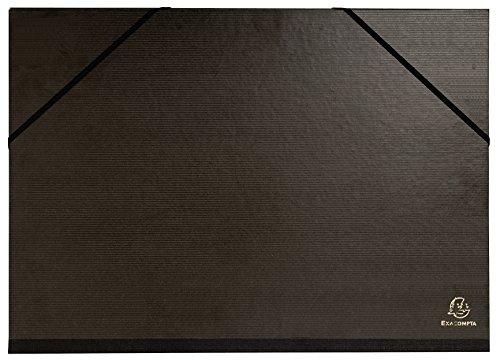 Exacompta 548000E Cartelle Porta Disegni, nero