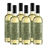 Marque Amazon - Compass Road Riesling, Qualitätswein 75 cl - Lot de 6