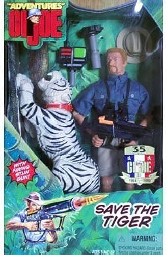 35 Years Anniversary Adventures GI Joe 12 Inch Action Figure - Save the Tiger with rot Head GI Joe by Hasbro