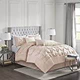 Madison Park Laurel Comforter Set Blush, Cal King(104'x92')
