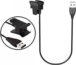 LeSB Fitbit alta carga cable adaptador USB cargador de carga de repuesto Cable de carga para Fitbit alta Smart Fitness reloj sin función de reset (30 cm)