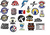 21 pcs Electrician Hard Hat Stickers, for Hard Hat, Window, Car Electrical Safety Helmet Union Decals
